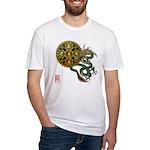 dragon mandala 1 Fitted T-Shirt