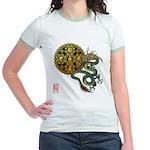 dragon mandala 1 Jr. Ringer T-Shirt