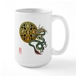 dragon mandala 1 Large Mug