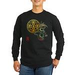 dragon mandala 1 Long Sleeve Dark T-Shirt