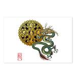 dragon mandala 1 Postcards (Package of 8)