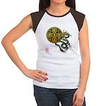 dragon mandala 1 Women's Cap Sleeve T-Shirt