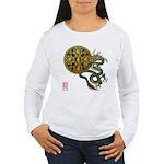 dragon mandala 1 Women's Long Sleeve T-Shirt