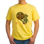 dragon mandala 1 Yellow T-Shirt