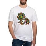 ryu bonji 1 Fitted T-Shirt