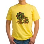ryu bonji 1 Yellow T-Shirt