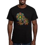 ryu bonji 1 Men's Fitted T-Shirt (dark)