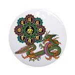 ryu bonji 1 Ornament (Round)