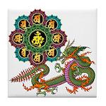 ryu bonji 1 Tile Coaster
