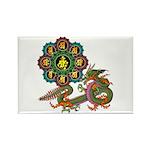 ryu bonji 1 Rectangle Magnet (100 pack)