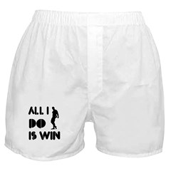 All I do is Win Bodybuilding Boxer Shorts