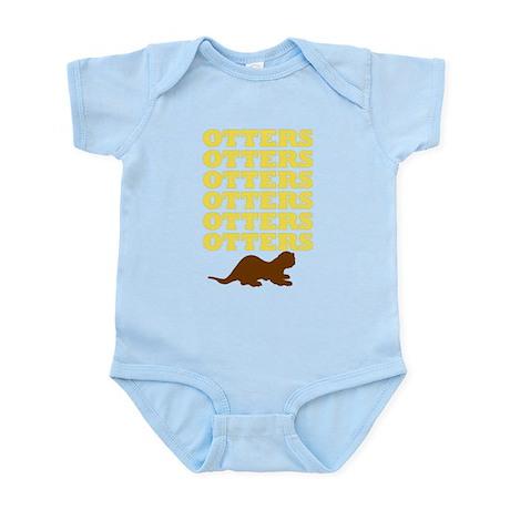 OTTERS OTTERS OTTERS Infant Bodysuit