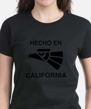 Hecho en California Women's Dark T-Shirt