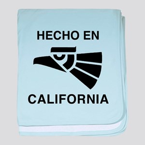 Hecho en California baby blanket
