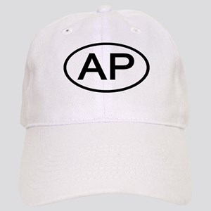 AP - Initial Oval Cap