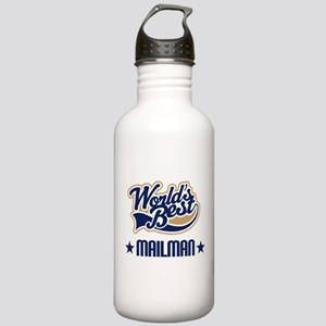 Mailman Gift Stainless Water Bottle 1.0L