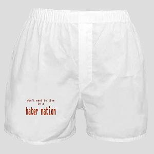 hater nation Boxer Shorts