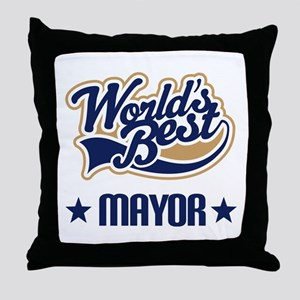Mayor Gift Throw Pillow