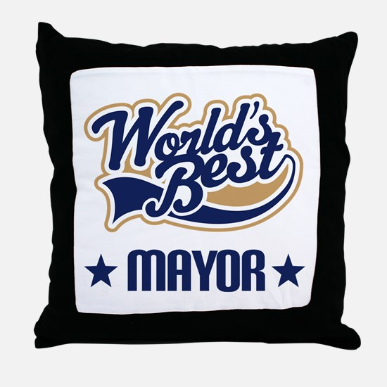 Mayor Gift Throw Pillow