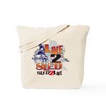 Live 2 Sled Sled 2 Live - Sno Tote Bag