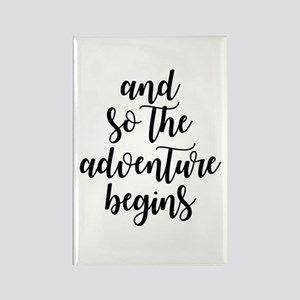 and so the adventure begins Magnets