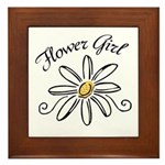 Flower Girl Framed Tile