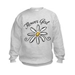 Flower Girl Kids Sweatshirt