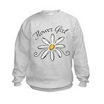 Flower Girl Kids Sweatshirt