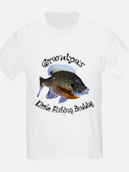 Grandpa's Little fishing budd T-Shirt