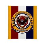 Iraq Desert Storm Veteran Throw Blanket