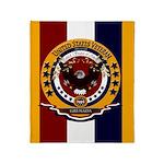 Grenada Veteran Throw Blanket