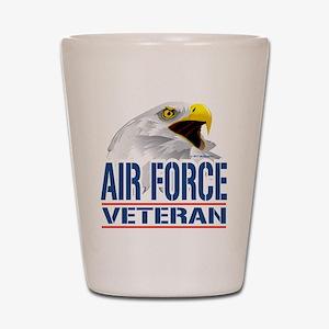 Air Force Veteran Eagle Shot Glass