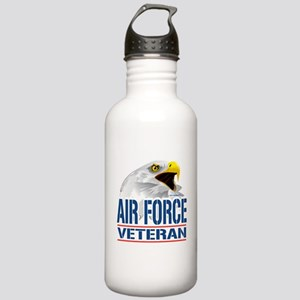 Air Force Veteran Eagle Stainless Water Bottle 1.0