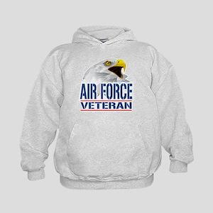 Air Force Veteran Eagle Kids Hoodie