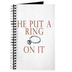 He Put a Ring on It Journal