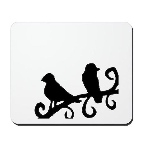"""Birds Silhouette"" Mousepad"