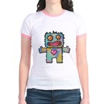 kuuma mystery land 1 Jr. Ringer T-Shirt