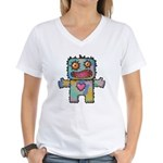 kuuma mystery land 1 Women's V-Neck T-Shirt