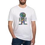 kuuma mystery land 2 Fitted T-Shirt
