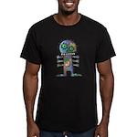 kuuma mystery land 2 Men's Fitted T-Shirt (dark)