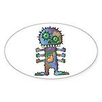 kuuma mystery land 2 Sticker (Oval 10 pk)