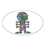 kuuma mystery land 2 Sticker (Oval 50 pk)