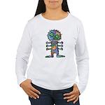 kuuma mystery land 2 Women's Long Sleeve T-Shirt