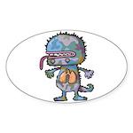 kuuma mystery land 3 Sticker (Oval 10 pk)