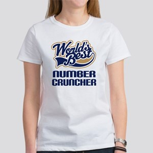 Number Cruncher Gift Women's T-Shirt