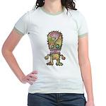 kuuma mystery land 5 Jr. Ringer T-Shirt