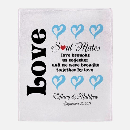 Soul Mates Throw Blanket