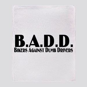 B.A.D.D. Throw Blanket