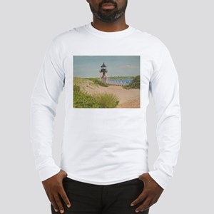 Nantucket Lighthouse Long Sleeve T-Shirt