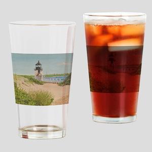 Nantucket Lighthouse Drinking Glass